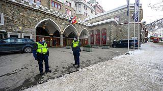Corona-Hotspot St. Moritz in der Schweiz
