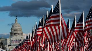 Biden Inauguration Flags