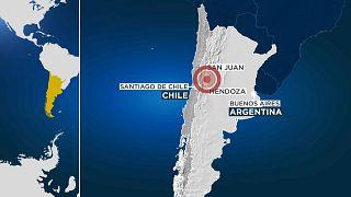 El epicentro se encontraba a escasos kilómetros de San Juan, en Argentina