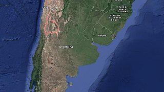 زلزله در آرژانتین