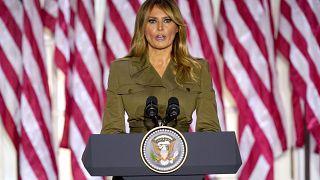 First lady Melania Trump on Aug. 25, 2020.