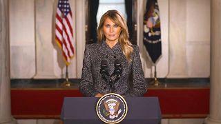 السيدة الأولى الأمريكية السابقة ميلانيا ترامب