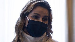 La velista olimpionica greca Sofia Bekatorou