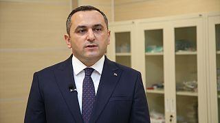 Azerbaycan Tıbbi Bölgesel Birimler Yönetim Birliği (TABİB) Yönetim Kurulu Başkanı Doç. Dr. Ramin Bayramlı