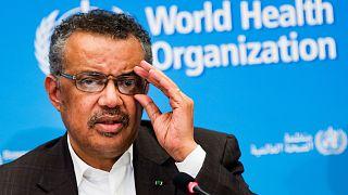 Dünya Sağlık Örgütü Başkanı Ghebreyesus