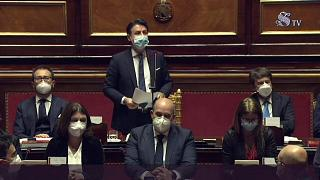 رئيس الوزراء الإيطالي أمام تصويت بالثقة في مجلس الشيوخ في خضم أزمة الفيروس