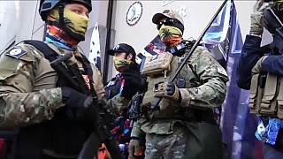 Des groupes armés en Virginie
