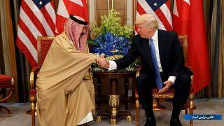 دونالد ترامپ و پادشاه بحرین