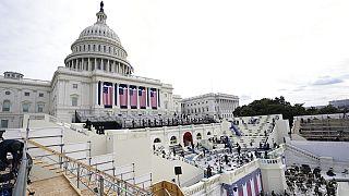Proben für die Amtseinführung von Joe Biden am 20.Januar 2021