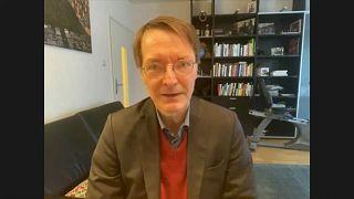 SPD-Gesundheitsexperte Karl Lauterbach im Gespräch mit Euronews.