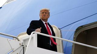 الرئيس المنتهية ولايته دونالد ترامب