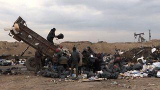 Szíria: turkálók a szemétdombon