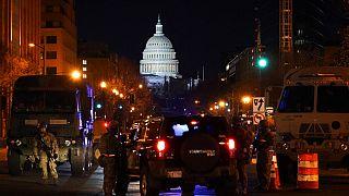 Sicherheitsvorkehrungen in Washington
