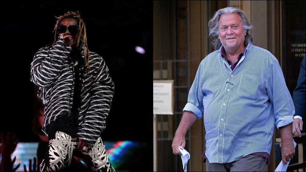 Trump, eski başdanışmanı Steve Bannon ve rapçi Lil Wayne gibi isimlerin bulunduğu 73 kişiyi affetti