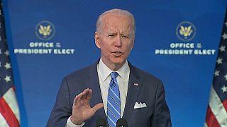 President Biden delivers economic plan in Wilmington, Delaware, US
