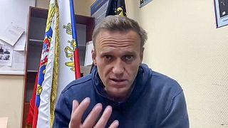 L'opposant russe Alexeï Navalny, le 18/01/2021 - image extraite de sa page YouTube