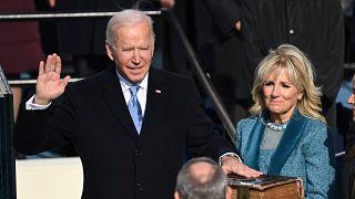 Joe Biden'ın yemin töreni