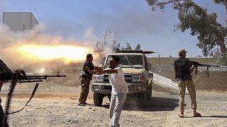 Halife Hafter güçlerine karşı savaşan Misrata merkezli savaşçılar / Libya (arşiv)