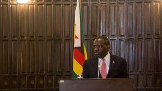 Ο υπουργός Εξωτερικών της Ζιμπάμπουε Σιμπουσίσο Μόγιο