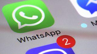Whatsapp uygulamasının telefondaki sembolü