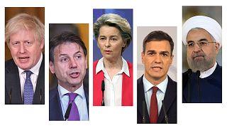 برخی از رهبران جهان که به انتقال قدرت در کاخ سفید تاکنون واکنش نشان دادهاند
