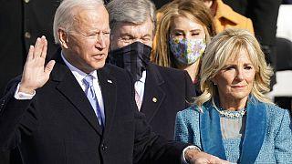 Joe Biden mit Ehefrau Jill
