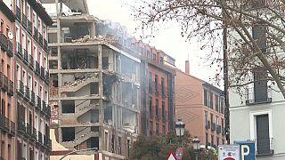 انفجار يهز مبنى في وسط مدريد
