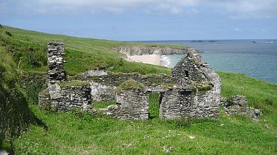 The Great Blasket Island, Co. Kerry, Ireland.