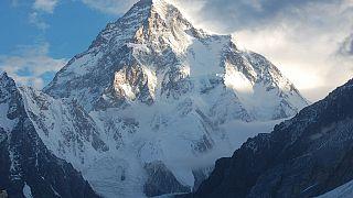 Der K2 im Karakorum.