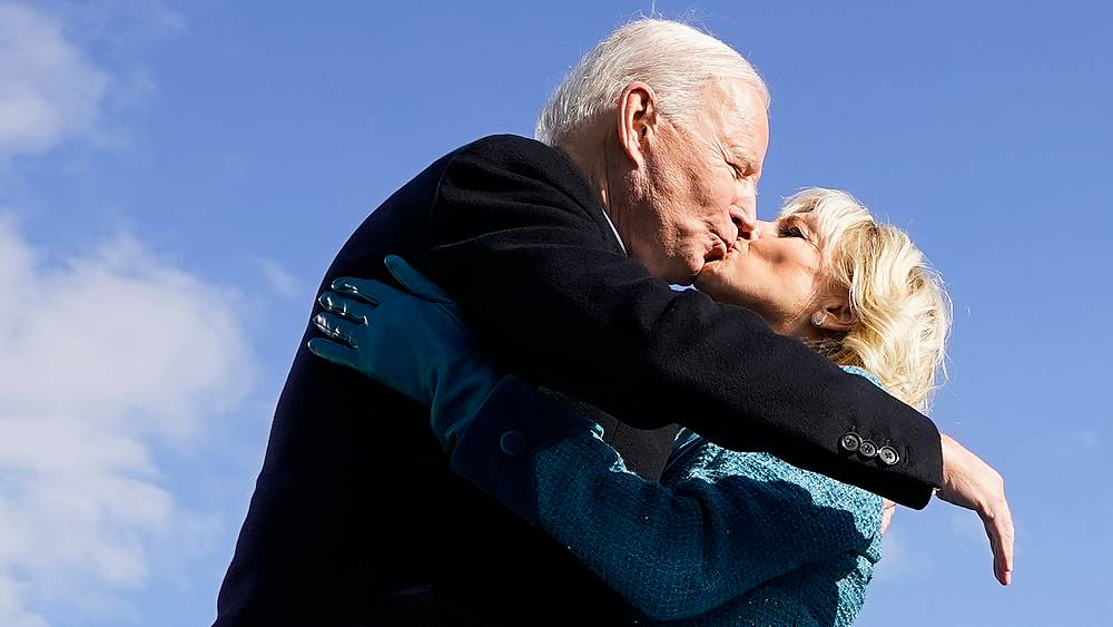 In pictures: Joe Biden becomes the 46th US president