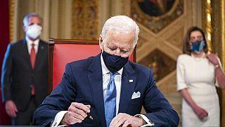جو بايدن يصبح الرئيس السادس والأربعين للولايات المتحدة الأمريكية