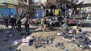 تفجير انتحاري في وسط بغداد ومقتل أكثر من 20 شخصا