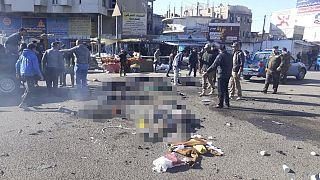 Irak'ın başkenti Bağdat'ta intihar saldırısı düzenlendi, çok sayıda ölü ve yaralı var