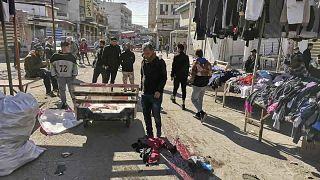 Öngyilkos merényletek Bagdadban