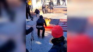 США: протесты против Байдена