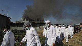 Hindistan Serum Enstitüsü dünyanın en büyük aşı üretim merkezi konumunda bulunuyor.