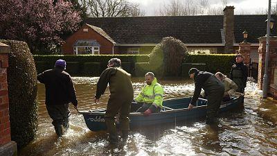 Sever flooding hits the UK