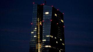 مقر البنك المركزي الأوروبي بفراكفورت/13 يناير 2021