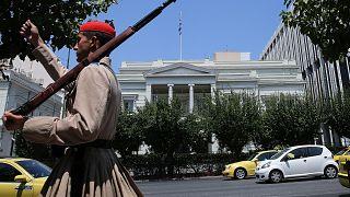Εξωτερική άποψη του ελληνικού υπουργείου Εξωτερικών