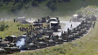 Güney Osetya'da Rus güçleri / Arşiv / 9 Ağustos 2008