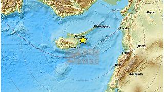 Χάρτης της Κύπρου