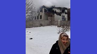 Az ukrajnai Harkiv városában történt tűztragédiának halálos áldozatai is vannak