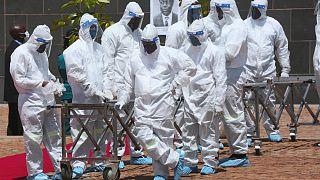 نگرانی کارکنان بیمارستانی در زیمباوه از افزایش مبتلایان و مرگ ومیر ناشی ویروس کرونا