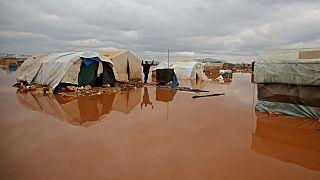 Il campo di Kafr Lusin in Siria