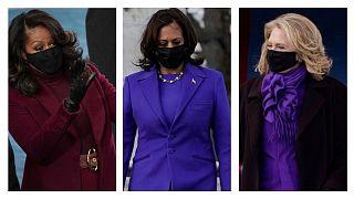 کامالا هریس، هیلاری کلینتون و میشل اوباما