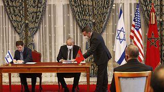 Fas ile İsrail, 22 Aralık 2020'de diplomatik ilişkilerin normalleştirilmesi kapsamında 4 anlaşma imzalamıştı