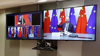 انتقاد از توافق تجاری چین و اتحادیه اروپا