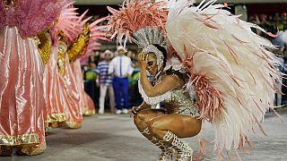 ARQUIVO (desfile da escola Beija Flor, em 2020)