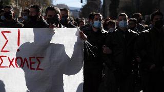 Studentenproteste in Athen