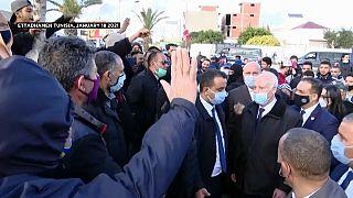 Tunisie : le président Kais Saïed nie avoir tenu des propos antisémites